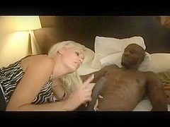 Mature and younger blonde sharing a BBC