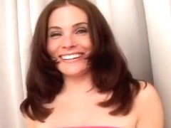 Busty Brunette Roughly Oral Fucked