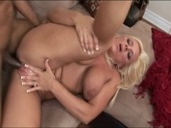 Golden-Haired mother i'd like to fuck having interracial sex at home