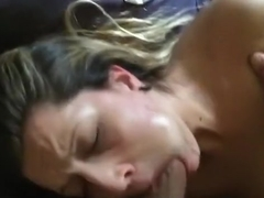 Wild one night stand morning sex. she had a thing for rimjobs !!!
