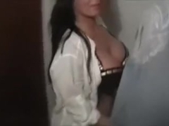 Wet horny MILF gets a morning doggy fuck
