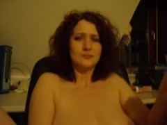 Fingering and fuck on the chair
