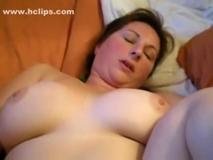 wife with vibrator while getting fucked