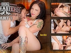 Tommy Pistol & Necro Nicki in BBQ Titmasters Part 1 - Make Me Famous Scene