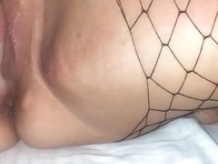 Playing with my sexy wife's wet pussy with her toy