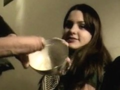 Big rod legal age teenager irrumation-sex and drink