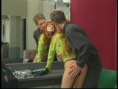 Redhead hottie acquires wazoo smacked