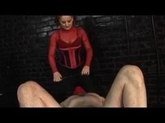 Domme Ties And Shocks slave