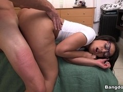 Ava Sanchez in Ava Sanchez showing off that phat booty!  Video