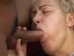 50and Over Woman Gets Fucked Hard By Young White Cock