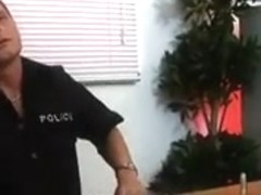 Stacked Milf Fucks the officer