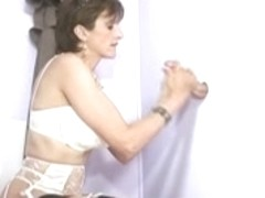 mother I'd like to fuck in changing room Gloryhole