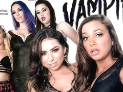Carter Cruise & Melissa Moore & Abigail Mac & Jelena Jensen & Georgia Jones in VAMPIRES: Part 1: W.