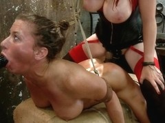 Ariel X & Mz Berlin in Ariel X Live Show - Complete Edited Version - HogTied