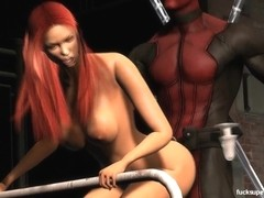 Deadpool and Jean and the Big Green