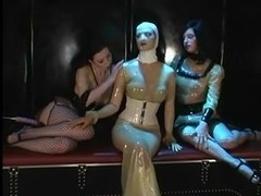 Threesome lesbi video with chicks and sex toys