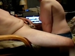 Wifey engulfing my strapon, & wishing for greater amount & larger knobs to engulf n fuck