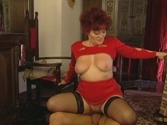 Grandmas Shaggy Snatch Is Open For Her Youthful Paramour