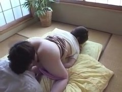 Japanese teen rides cock before getting a facial