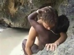 White guy goes to Africa for some Jungle love.