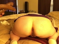 Double trouble for a BBW amateur slut