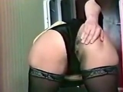Drilling my mature wife's asshole deep and hard from behind