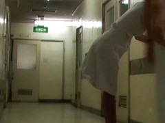 Man wanted to see nurse panty and sharked her skirt