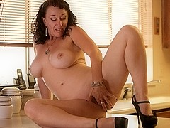 Sugar Sweet in Pussy On The Counter Scene