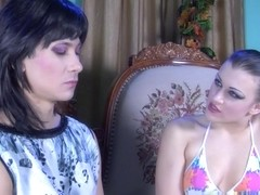 StraponSissies Video: Sibylla and Arnold A