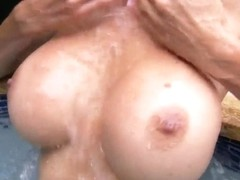 Busty mature blonde Puma Swede is fingering