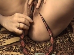 Exotic Amateur record with Hairy, Toys scenes