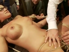 Anal Slave Barks to Come while House Slave Earns Her Leathers