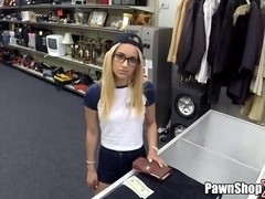 Skinny Blonde Takes A Big Dick Up Her Tight Twat in Pawn Shop xp14697 HD Hardcore
