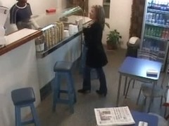 Spying vid from store