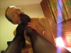 Queen Slutty Hotel Escort Stocking Feet Licked