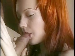 Redhead immature gets anal