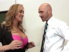 Brandi Love doesn't feel right about Johnny Sins' baton