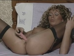 British wench Lee-Anne plays with herself in various scenes