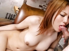 Fabulous Japanese whore Rei in Incredible JAV uncensored Blowjob video