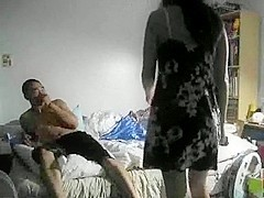 Lovely Asian and her bf fucking