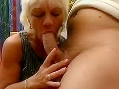 Tight Old Lady Gets Fucked Right In The Butt