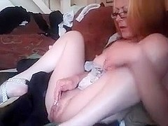Hot Milf Masturbating Solo