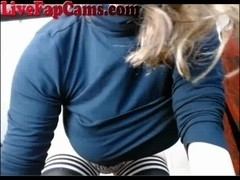 Amazing Tits On This Curvy Webcam Girl