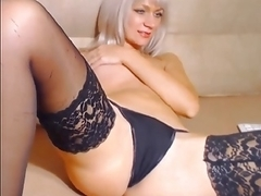 Playgirl Orgasms and Wets her Lingerie with her Juices