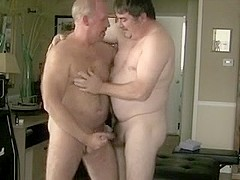 daddy loves his chubby.