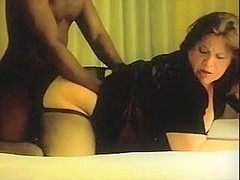 large nice-looking woman cums with BBC doggy