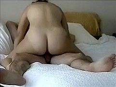mature wife riding friends cock whole hubby at work