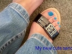 My new sandals