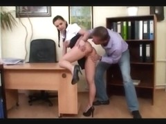 boss bonks his secretary :D
