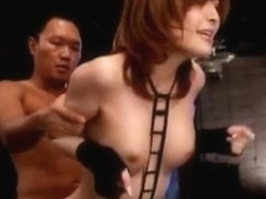 Riona Suzune pleases a big cock and gets fucked hard by a stud
